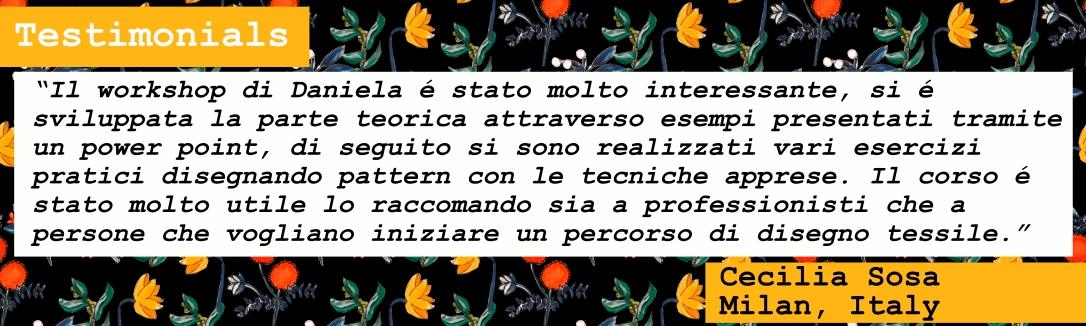 Testimonial Cecilia Sosa