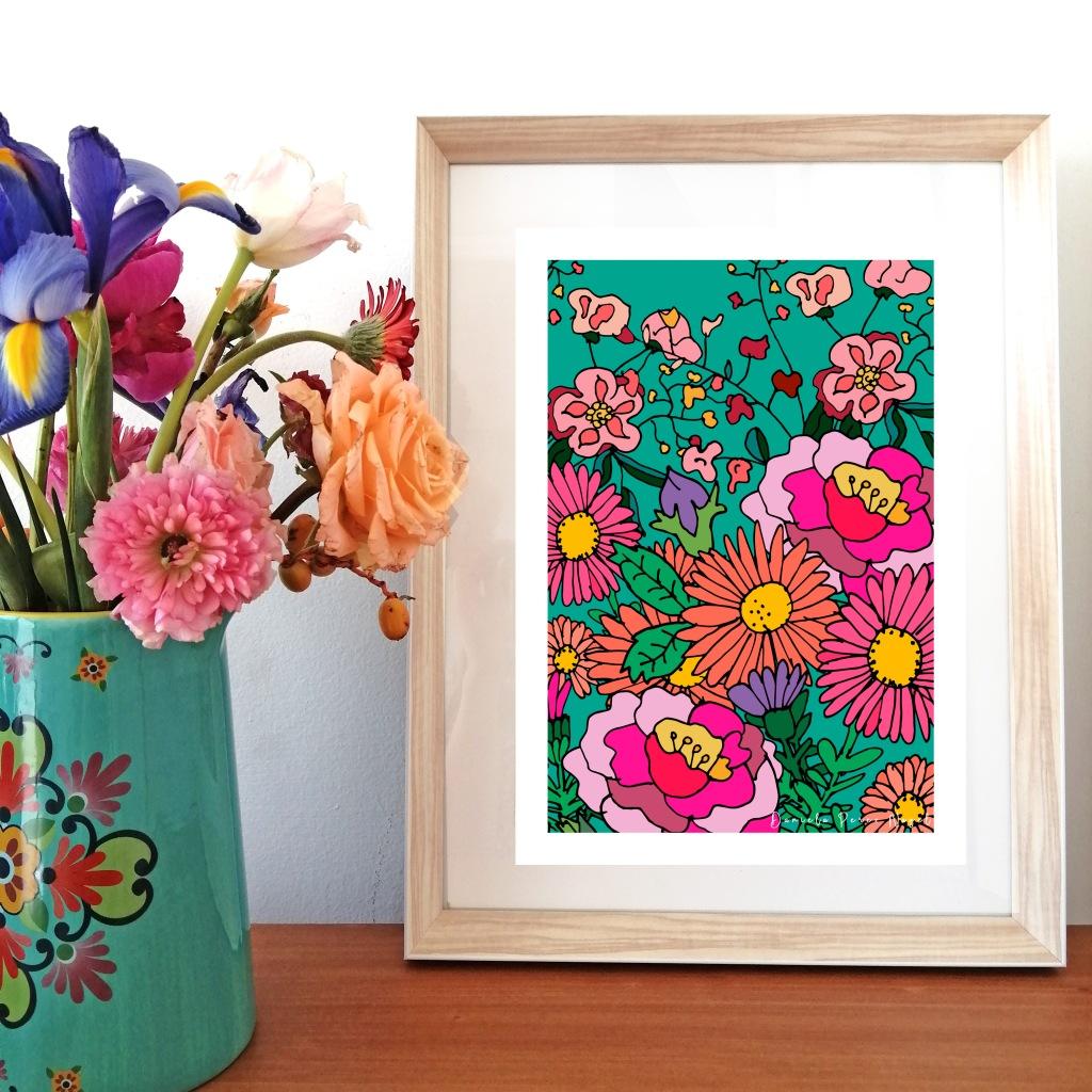 """""""Composición Floral"""" $39.990"""